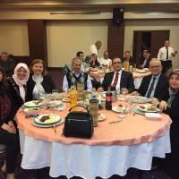 Zehra Genç, Gül Arslan, Şükran Dermenci, Dr. Hasan Dermenci, Ecz. Selçuk Arslan, Ahsen Okyar, Nursel Okyar