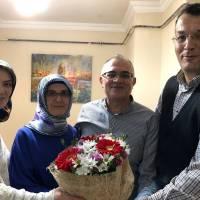 Emine Uzunhasanoğlu, Dr. Fatma Taşolar, Dr. Oktay Taşolar, Akça Koca Kültür Platformu Başkanı Hasan Uzunhasanoğlu