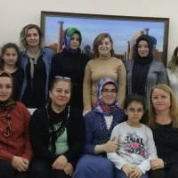 Dr. Fatma Taşolar ve misafirleri