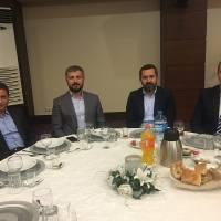 Prof. Dr. Mehmet Bayrak, Coşkun Karakadılar, Harun Reşit Kocagöz ve Emre İpekli