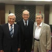 Mehmet Cemal Çiftçigüzeli, Ahsen Okyar ve Zeki Hacıibrahimoğlu