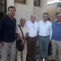 Cihat Kaymas, Mehmet Cemal Çiftçigüzeli, e. Bakan Ali Çoşkun, Hasan Uzunhasanoğlu, Dr. Oktay Taşolar