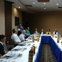Dr. Hasan Hüseyin Can ve Akça Koca Kültür Platformu üyeleri
