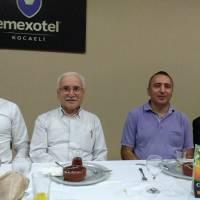 Coşkun Karakadılar, Ali Kahraman, Dr. Yunus Özen, Prof. Dr. Mehmet Bayrak