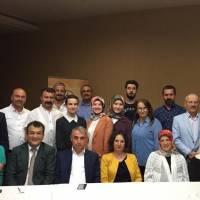 Akça Koca Kültür Platformu üyeleri İstanbul Vali Yardımcılığına atanan Dr. Hasan Hüseyin Can ile birlikte