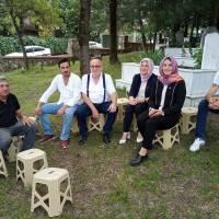 İYİ Parti İzmit İlçe Başkanı Dr. Pelin Coştur Filiz ve anma toplantısına katılanlar