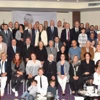 Dr. Nuri Çağlar ve Akça Koca Kültür Platformunun vefa toplantısına katılanlar