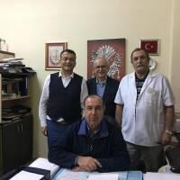 Hasan Uzunhasanoğlu, Ahsen Okyar, Ecz. Selçuk Arslan ve Dr. Alaattin Büyükkaya