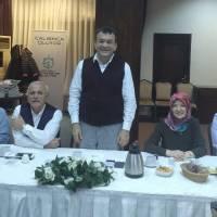 Nurdan Kocagöz, Dr. Nuri Çağlar, Platform Başkanı Hasan Uzunhasanoğlu, Dr. Ayşe Zeynep Turan, İnşaat Mühendisi Bekir Civraz