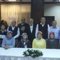 Elif Gülce Taşolar'ın başkanlık kutlamasına katılan Akça Koca Kültür Platformu üyeleri