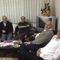 Hasan Uzunhasanoğlu, Ahsen Okyar, Dr. Alaattin Büyükkaya, Dr. Nuri Çağlar ve Fevzi Genç