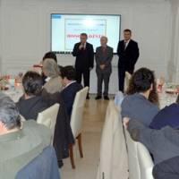 İstanbul Vali Yardımcısı Dr. Hasan Hüseyin Can hoşgeldiniz konuşmasını yaparken