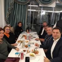Cihat Kaymas, Dr. Yüksel Aksoy, Ali Aydemir, Coşkun Karakadılar ve eşleri bir arada