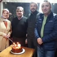 Ocak ayında doğan; Emine Uzunhasanoğlu, Ali Aydemir, Coşkun Karakadılar ve Dr. Yunus Özen yaşgünü pastasını keserken