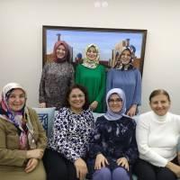Dr. Fatma E. Taşolar  ve misafirleri