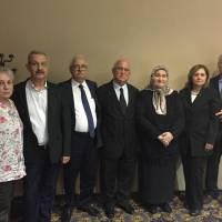 Hatice – Hasan Kalkavan, Turan Tok, Mehmet – Hülya Uysal, Fatma – Sinan Büyük birlikte