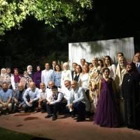Dr. A. Zeynep – Bekir Cıvraz çifti Akça Koca Kültür Platformu üyeleri ile birlikte