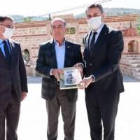 Tokat Valisi Dr. Ozan Balcı, e. Avrupa Birliği Bakan Yardımcısı Dr. Alaattin Büyükkaya, Tokat Belediye Başkanı Av. Eyüp Eroğlu