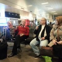 Halime Toka, Mustafa Toka, Ahsen Okyar, Nursel Okyar Sabiha Gökçen Havalimanın da