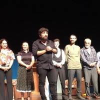 Yönetmen Berkant Yaşar değerlendirmelerini aktarırken