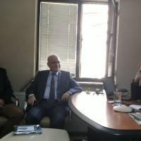 Akça Koca Kültür Platformu Başkanı Hasan Uzunhasanoğlu, Ahsen Okyar, Çağdaş Kocaeli Gazetesi Genel Yayın Yönetmeni Sadun Çetin