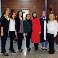 Ayşegül Karakadılar, Ümmühani Özen, Banu Çevikel, Saliha Aksoy, Dr. Ayşe Zeynep Turan, Dr. Fatma E. Taşolar, Ayşe Çapçı