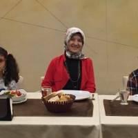 Gülce Taşolar, Dr. Ayşe Zeynep Turan, Başkan Mehmet Yusuf Taşolar