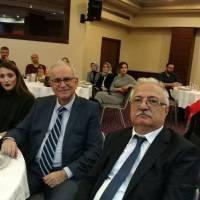 İGSAŞ Genel Müdürü Turan Tok, Ahsen Okyar ve toplantıya katılanlar