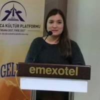 İstanbul Üniversitesi Doktora öğrencisi Türkmenistanlı Aygül Agayeva