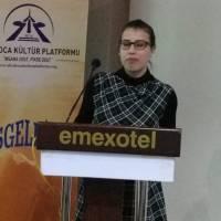 Kocaeli Üniversitesi İngiliz Dili ve Edebiyatı 2. Sınıf öğrencisi Neşe Sever