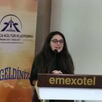 Kocaeli Üniversitesi İngiliz Dili ve Edebiyatı 2. sınıf öğrencisi Melisa Kıran