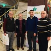 Ahsen Okyar, Prof. Dr. Ahmet Maranki, Hasan Uzunhasanoğlu, Ali Coşkun