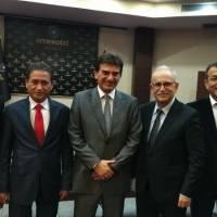 Abdurrahman Kaymak, Prof. Dr. Mehmet Bayrak, Doç. Dr. Murat Yalçıntaş, Ahsen Okyar ve Hasan Uzunhasanoğlu