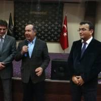 Doç. Dr. Murat Yalçıntaş, Dr. Alaattin Büyükkaya ve Hasan Uzunhasanoğlu
