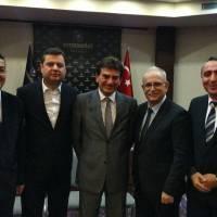 Hasan Uzunhasanoğlu, Cihat Kaymas, Doç. Dr. Murat Yalçıntaş, Ahsen Okyar ve Dr. Yunus Özen