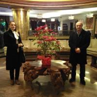 Kazım Bozkurt ve eşi