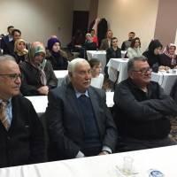 Ahsen Okyar, Günay Gülcü, Abdullah Köktürk ve toplantıya katılanlar