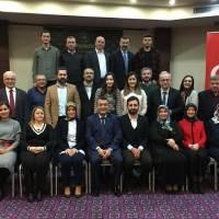 Dr. Fatih Mutlu Akça Koca Kültür Platformu üyeleri